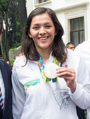 María Espinoza - Image: María Espinoza 2016