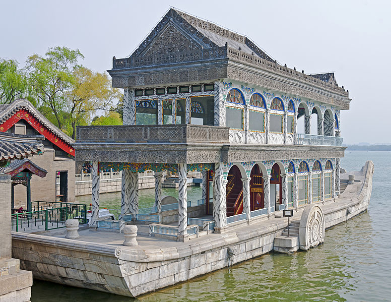 File:Marble Boat from stern, Summer Palace, Beijing.jpg