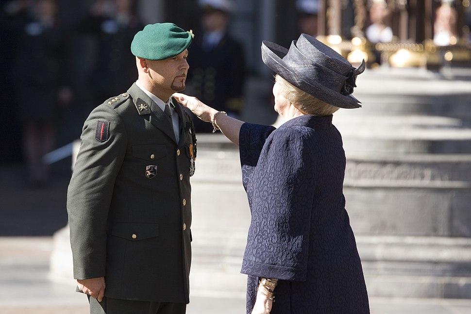 Marco Kroon Queen Beatrix