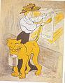 """Marguerite et sa Lionne """"Tigre"""".jpg"""
