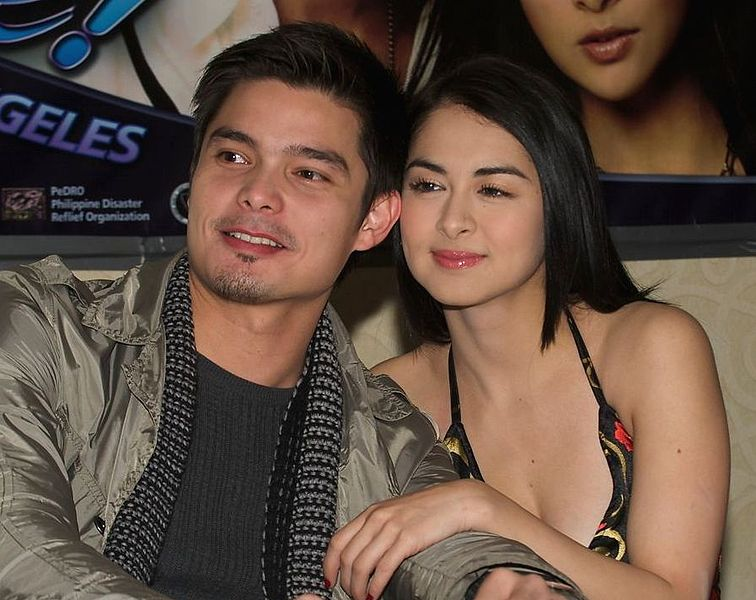 File:Marian Rivera and Dingdong Dantes LA Press Conference ...