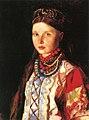 Marianne von Werefkin - Portrait of a Girl in Russian Costume.jpg