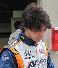 Mario Moraes 2010 Indy 500 Practice Day 7.JPG