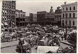 Marketing cotton Montgomery Alabama circa 1900