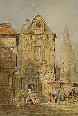 Marketplace at Bruges