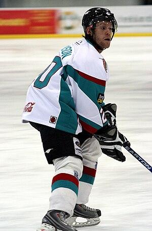 Mark Morrison (ice hockey, born 1982) - Image: Markmo 20