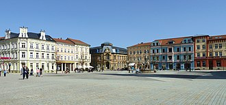 Meiningen - Market square