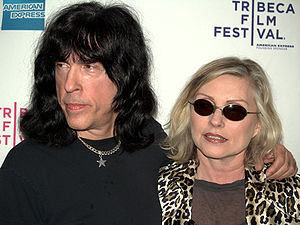 CBGB - Marky Ramone of the Ramones and Debbie Harry of Blondie attend a screening of Burning Down the House, a documentary on CBGB's heyday, at the 2009 Tribeca Film Festival.