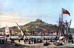 Marseille port c1825