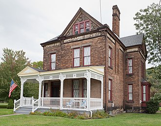 National Register of Historic Places listings in Hancock County, West Virginia - Image: Marshall House 2012