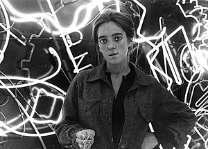 Marta Minujín - Minujín inside La Menesunda, a 1965 exhibition.