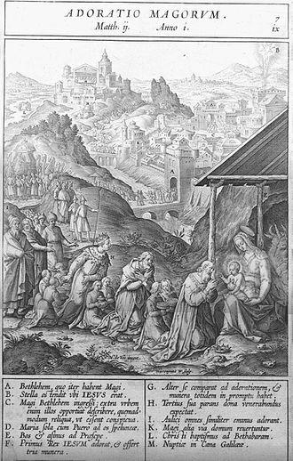 Hieronymus Wierix - Hieronymus Wierix image circa 1593.