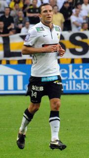 Martin Ericsson Swedish footballer