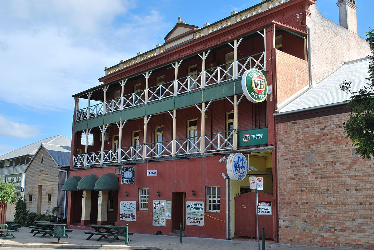 Criterion hotel maryborough wikipedia for Design hotel queensland