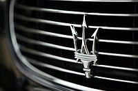 Maserati Quattroporte grille