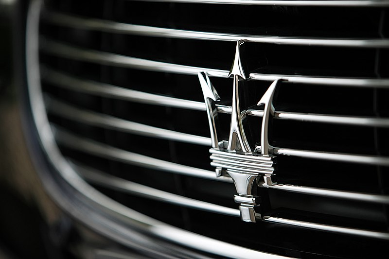 The Maserati Logo is a thing of beauty. There are a handful of Ferraris and