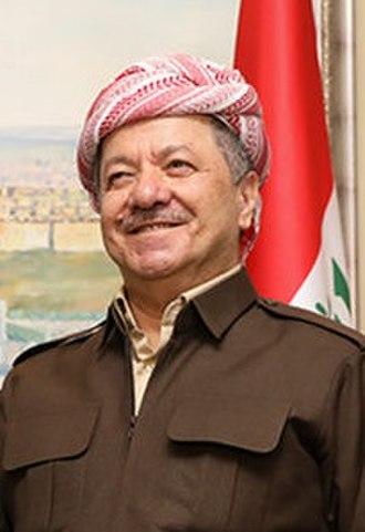 Masoud Barzani - Image: Masoud Barzani 2019