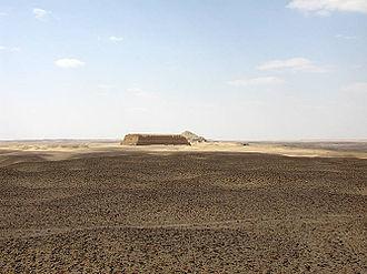 Mastabat al-Fir'aun - Image: Mastaba faraoun 1