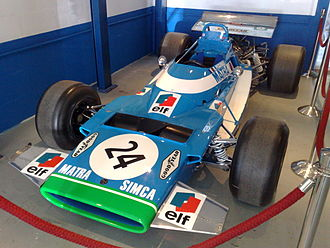 Equipe Matra Sports - Chris Amon's Matra MS120B used in the 1971 Argentine Grand Prix