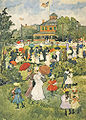 Maurice Prendergast (1858-1924) - Franklin Park Boston (1895-1898).jpg