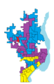 Mayor primary peoria precincts map 2005 outlined.png