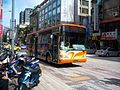 McDonald's Shuttle Bus in Qingcheng Street 20091031.jpg
