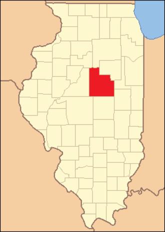 McLean County, Illinois - Image: Mc Lean County Illinois 1837