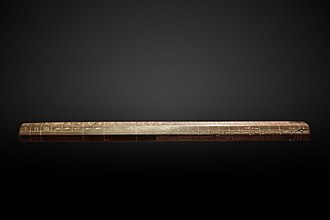 Cubit - Cubit rod of Maya, 1336–1327 BC (Eighteenth Dynasty)