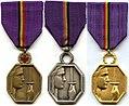 Medaille de la Reconnaissance Belge 1940–1945 3 classes.jpg