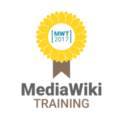 MediaWiki Training 2017 logo