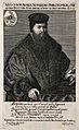 Melchior Ayrer. Line engraving by J. Pfann, 1640. Wellcome V0000254.jpg
