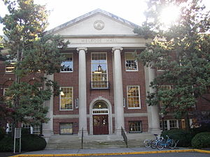 Linfield College - Melrose Hall, built in 1929, is the administrative center of the college.