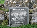 Memorial plaque, Rosses Point - geograph.org.uk - 1622657.jpg