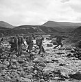 Men of 5th Battalion, The Highland Light Infantry, training in the mountains near Inverness in Scotland, 22 October 1942. H24779.jpg