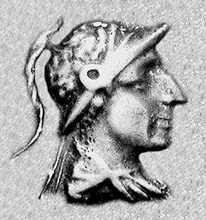Menander II - Portrait of Menander II.