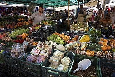 Snapshot of a Roman market