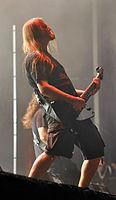 Meshuggah, Fredrik Thordendal at Wacken Open Air 2013 03.jpg
