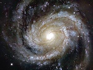Messier 100 - Image: Messier 100 — Grand Design Splendour