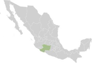 Grupos de Autodefensa Comunitaria - Image: Mexico states michoacán