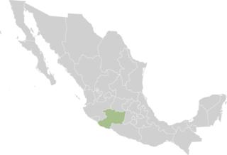 Michoacan State Map.Grupos De Autodefensa Comunitaria Wikipedia