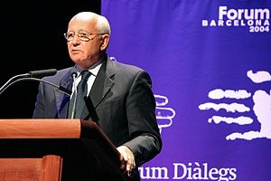 2004 Universal Forum of Cultures - Mikhail Gorbachev at the  2004 Universal Forum of Cultures