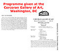 Michael Laucke ~ Corcoran Gallery Washington DC, USA, Program 1983.jpg