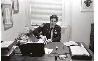 Michael Wildes - Wildes during his time as an auxiliary police officer for the NYPD, 1983.