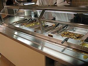 Midnight breakfast - Midnight breakfast at Tillett Dining Hall, Livingston Campus, Rutgers University after hungry hordes of students get food