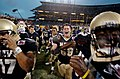 Midshipmen celebrate 2004 Emerald Bowl win 041230-N-9693M-854.jpg