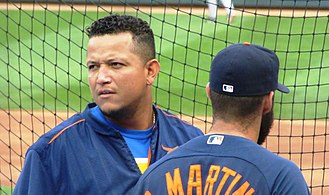 Miguel Cabrera - Cabrera with the Detroit Tigers