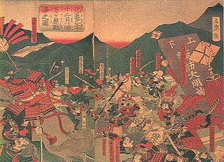 Battle of Mikatagahara 1573 battle in Japan