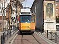 Milano tram ATM4900 linea 3 Colonne di san Lorenzo.jpg