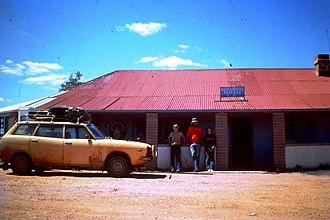 Milparinka, New South Wales - Milparinka Hotel, Milparinka, NSW 1976.