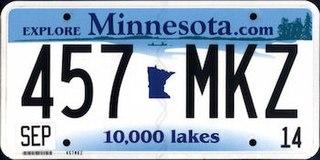 Vehicle registration plates of Minnesota Minnesota vehicle license plates